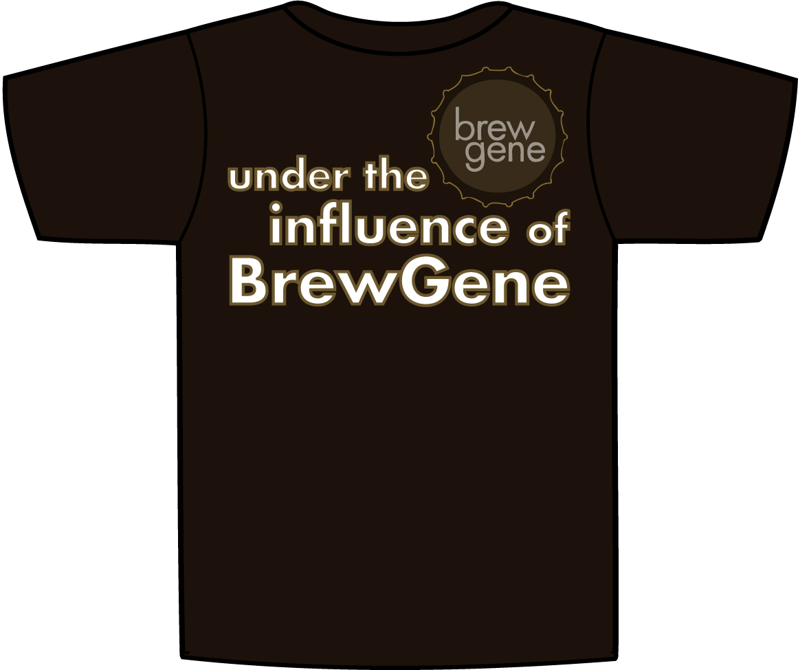 T-Shirt with Genome on Front