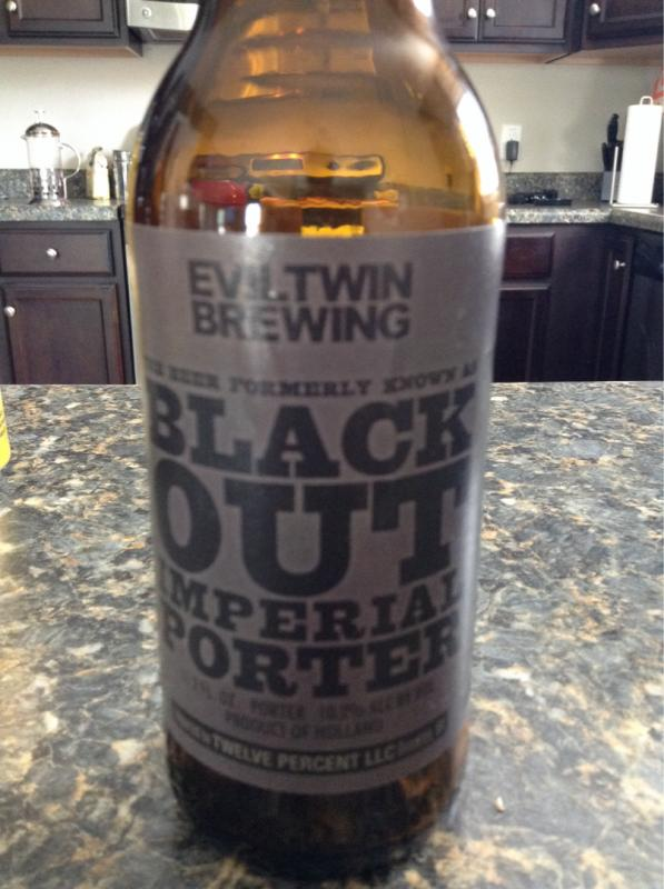 Black Out Imperial Porter