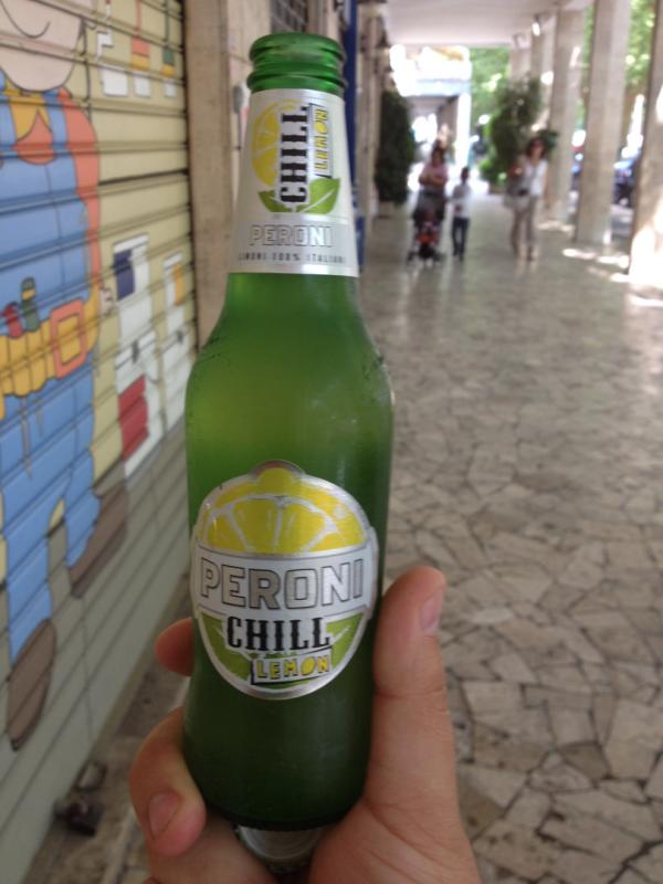 Peroni Chill Lemon