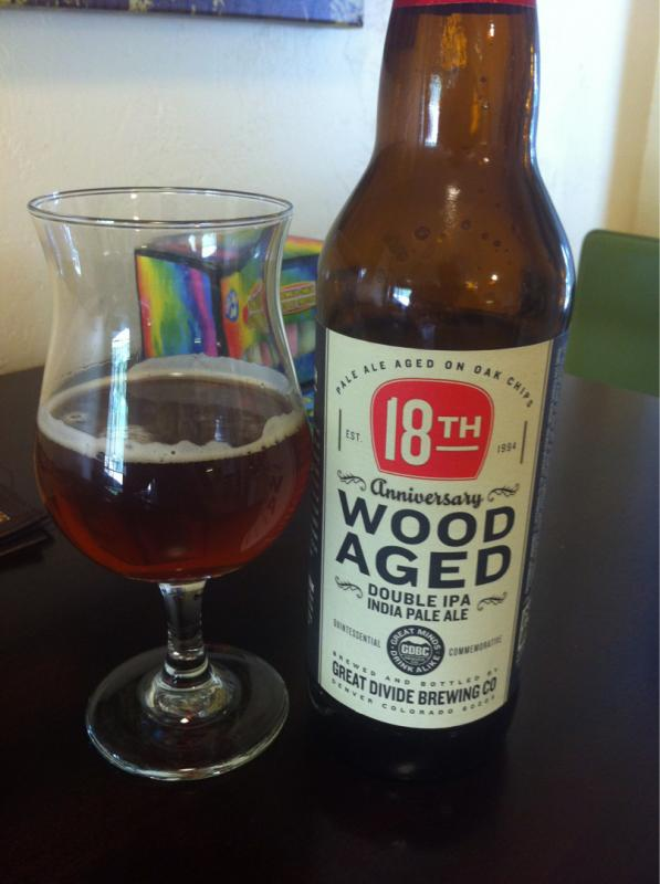 18th Anniversary Wood Aged Double IPA