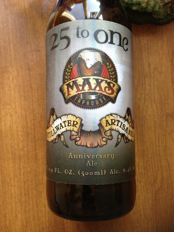 25 To One Anniversary Ale