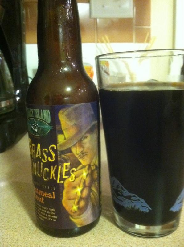 Brass Knuckles Oatmeal Stout