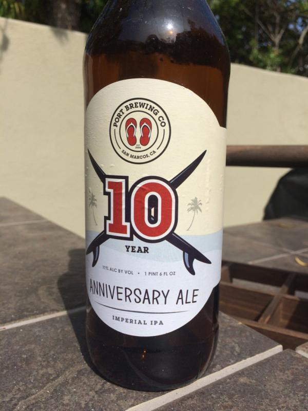 10 Year Anniversary Ale