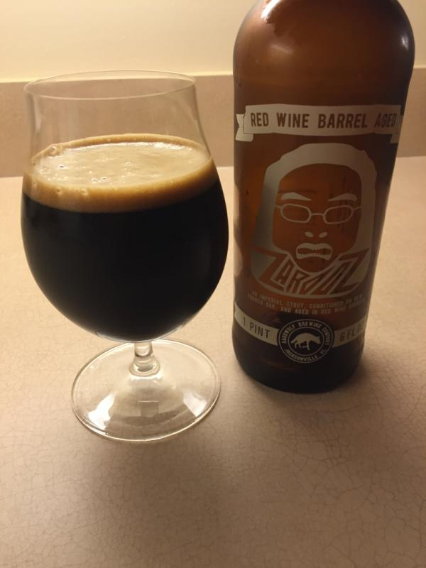 Red Wine Barrel Aged Zardoz