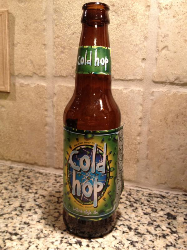 Cold Hop British-Style Ale
