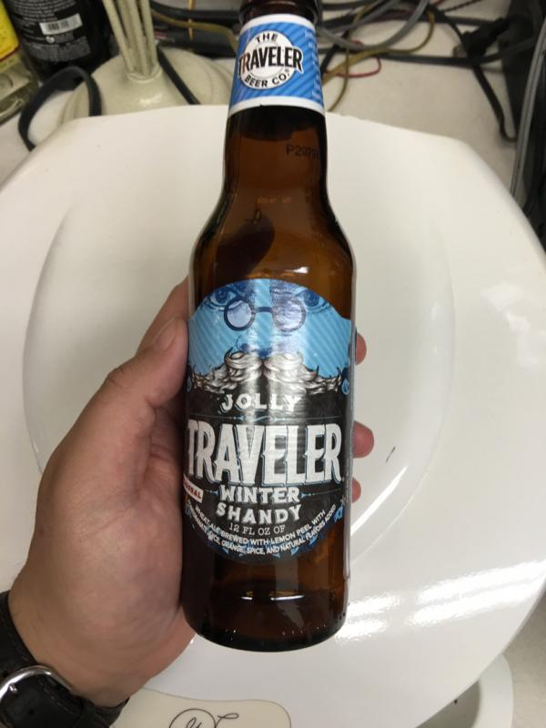 Jolly Traveler Winter Shandy