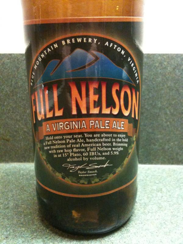 Full Nelson Pale Ale