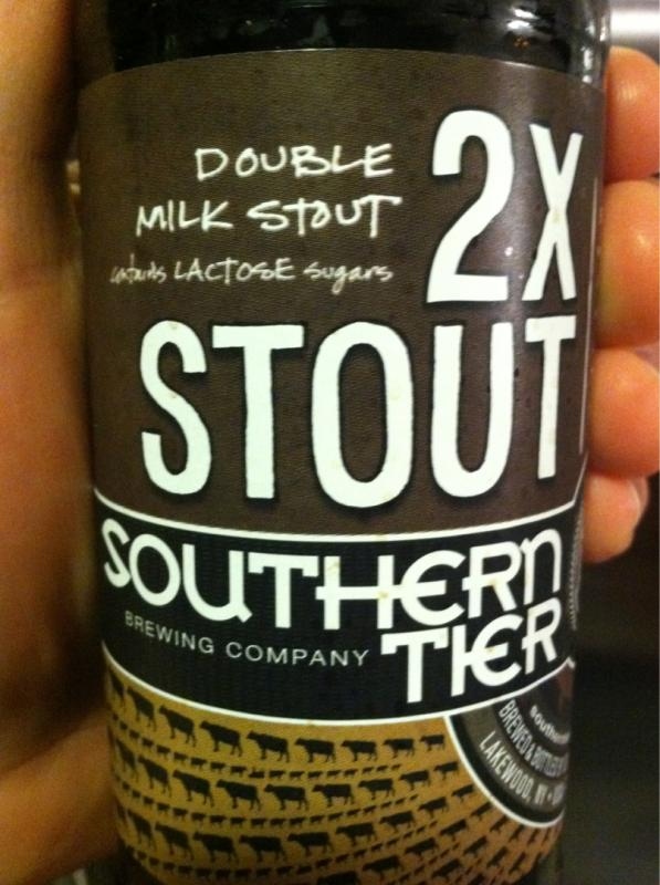 2XStout (Double Milk Stout)