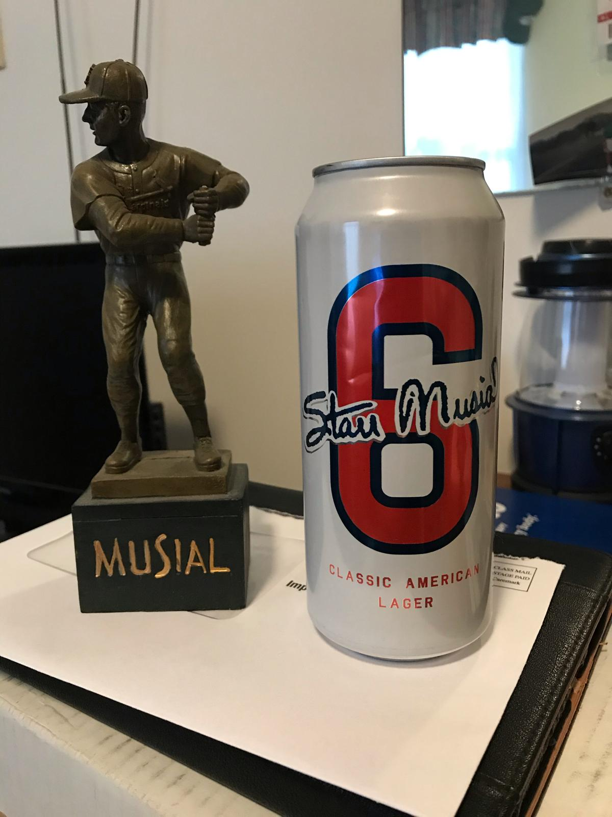 #6 Classic American Lager (Stan the Man - Stan Musial)