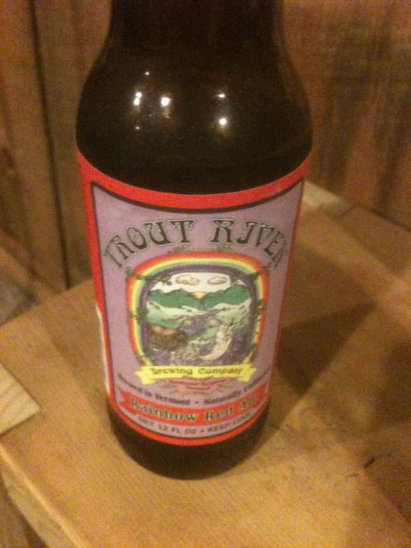 Trout River Rainbow Red Ale