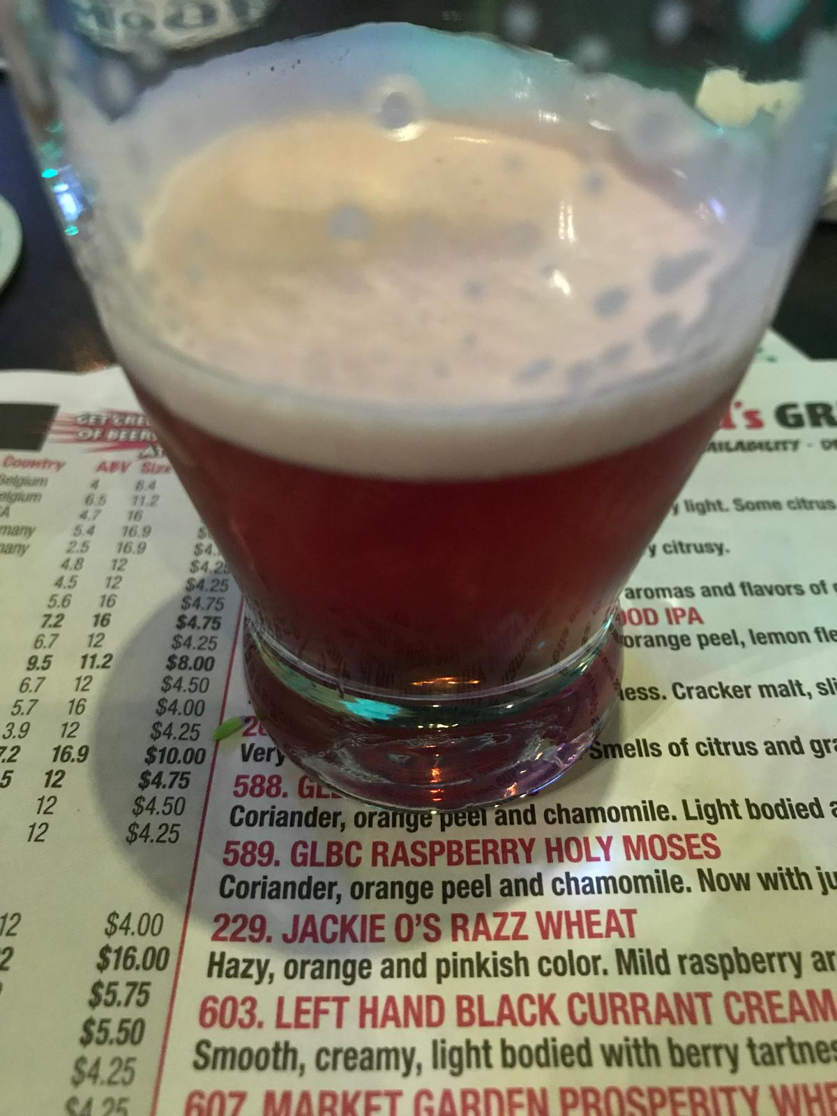 Black Currant Cream Ale