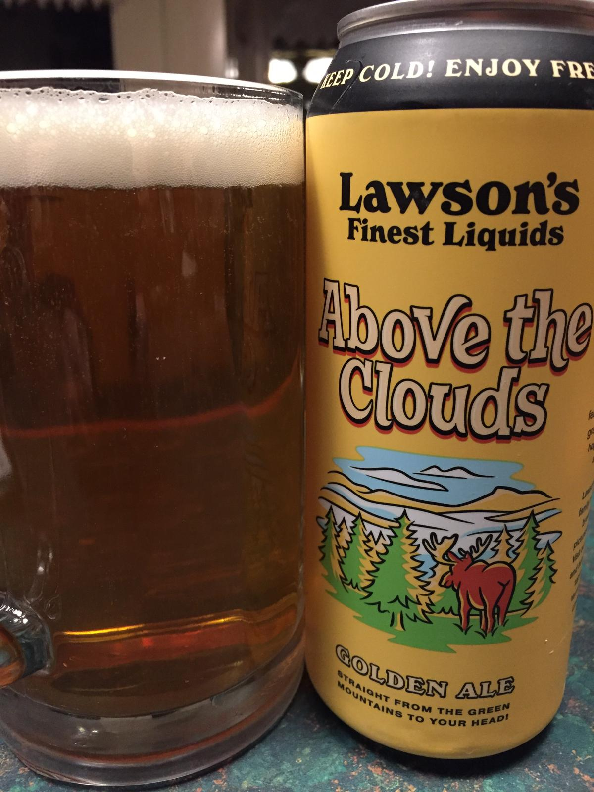 Above The Clouds Golden Ale