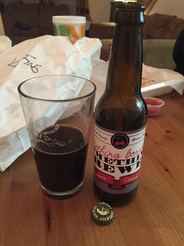 Something Borrowed Something Brewed - Chocolate Cherry Stout