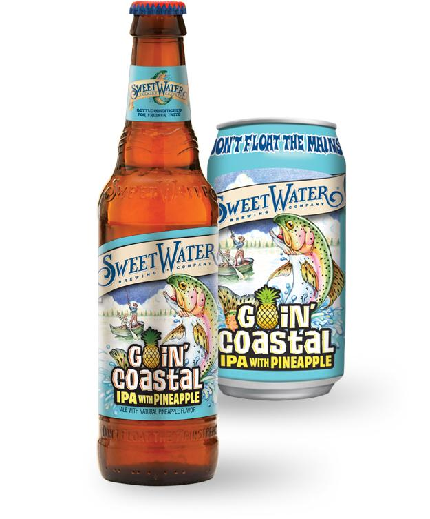 Sweetwater IPA with Pineapple