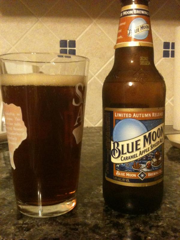 Blue Moon Caramel Apple Spiced Ale