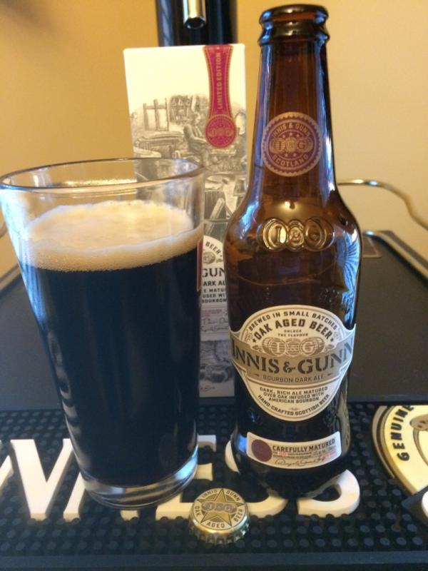 Bourbon Barrel Aged Dark Ale