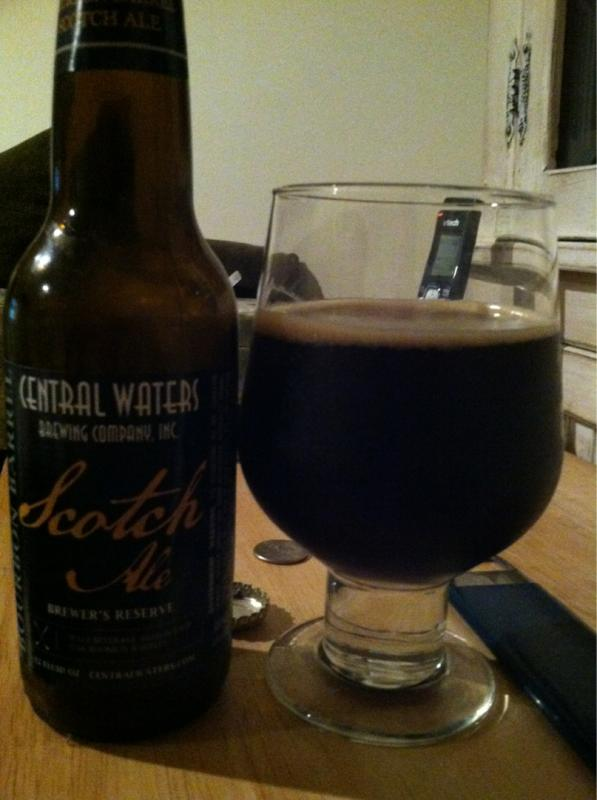 Brewers Reserve Bourbon Barrel Scotch Ale