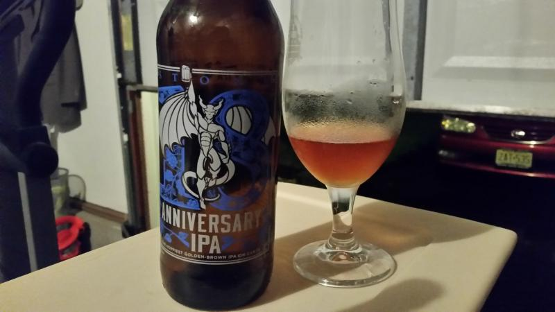 18th Anniversary IPA - Golden Brown
