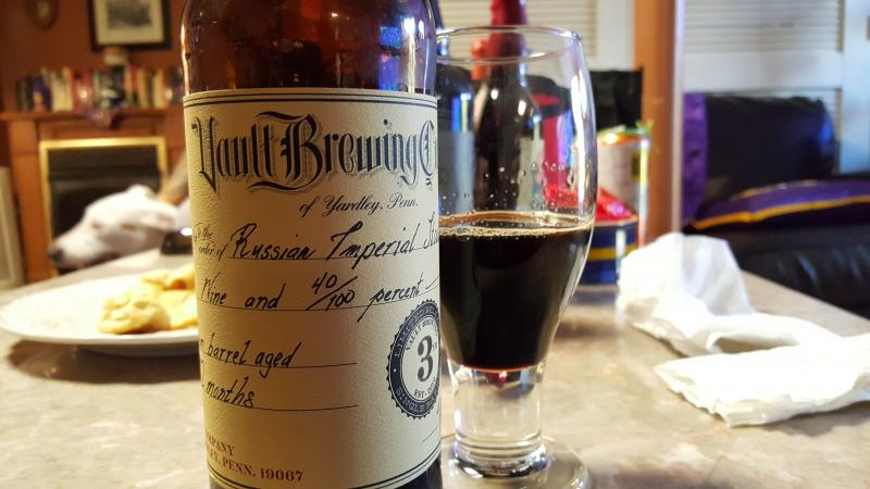 3rd Anniversary Russian Imperial Stout - Bourbon Barrel Aged