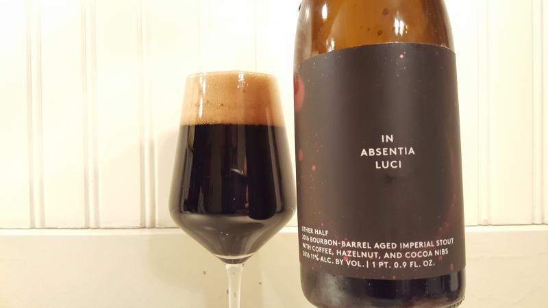 In Absentia Luci - 2016 Bourbon Barrel Aged With Coffee, Hazelnut And Cocoa Nibs