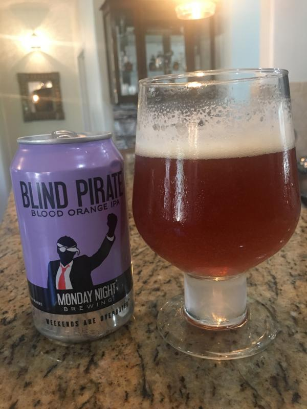 Blind Pirate Blood Orange IPA