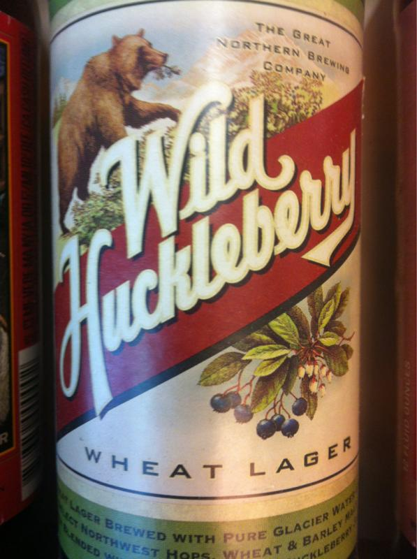 Wild Huckleberry Wheat Lager