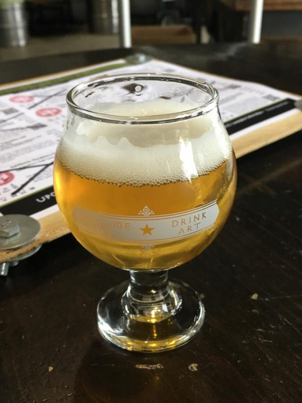 Antithesis: Columbus and Simcoe Pale Ale