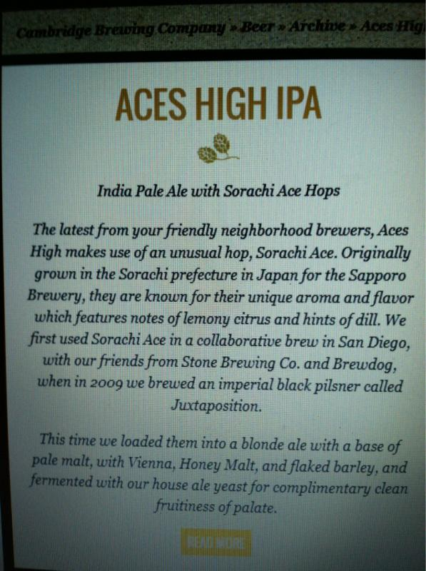 Aces High IPA