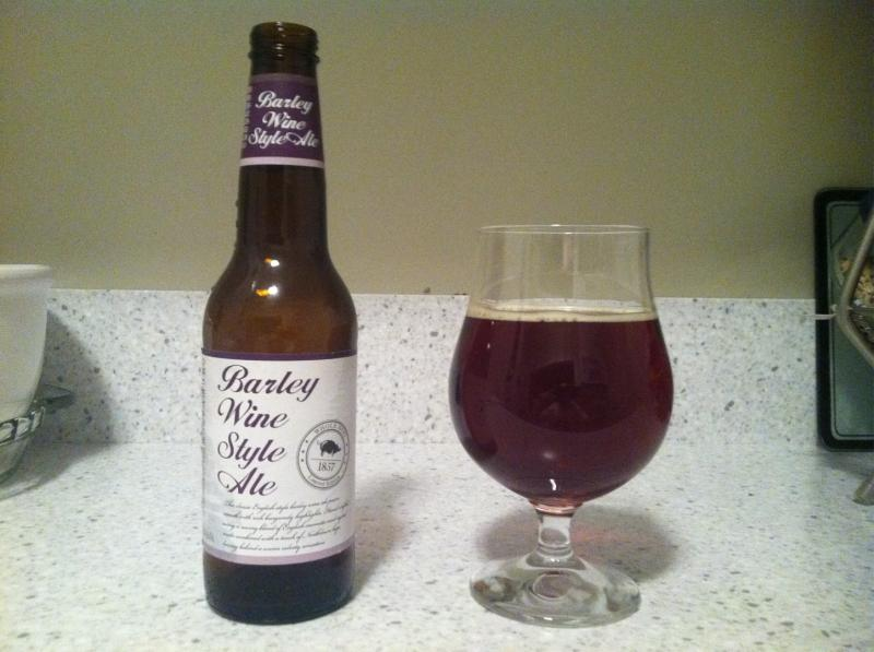 Whole Hog Barley Wine Style Ale