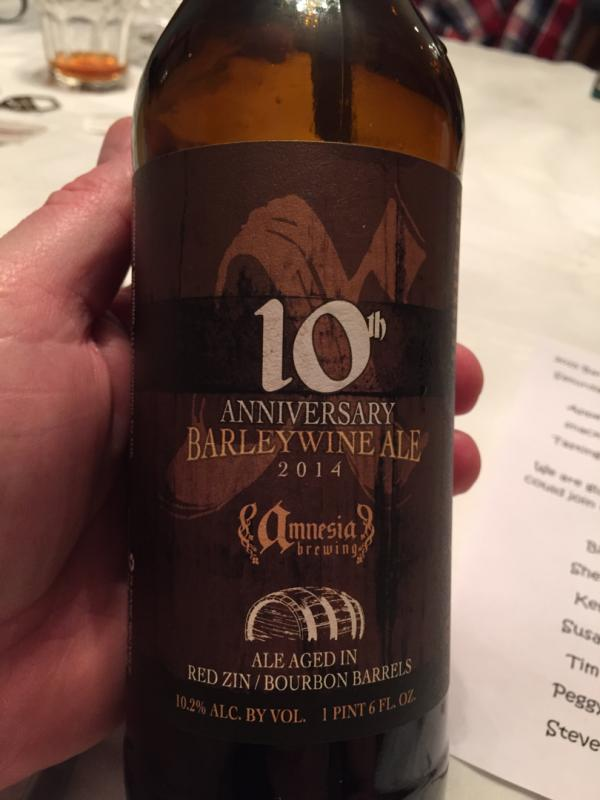 10th Anniversary Barely Wine