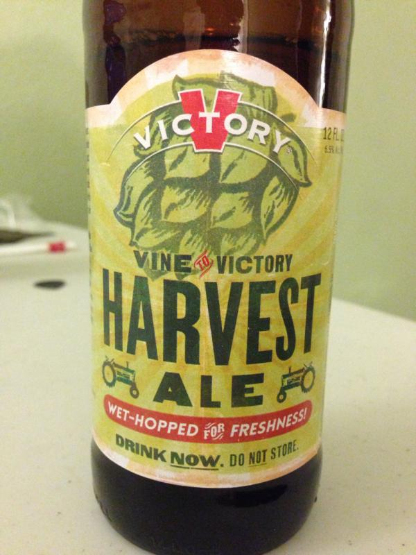 Vine To Victory Harvest Ale