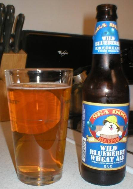 Sea Dog Wild Blueberry Wheat