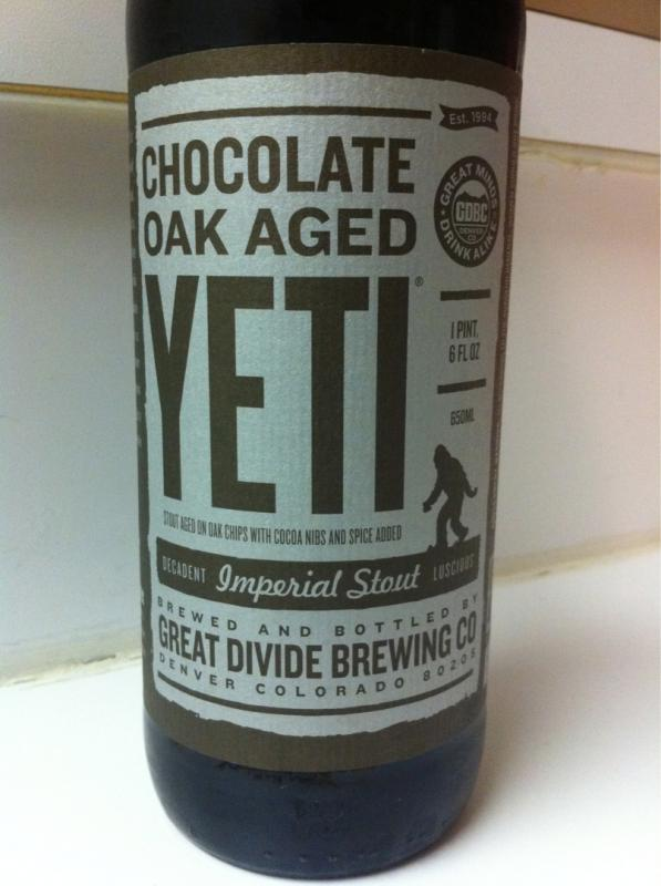 Yeti with Chocolate (Oak Barrel Aged)