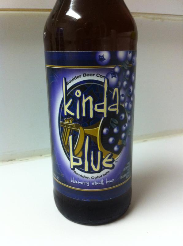 Kinda Blue Blueberry Wheat Beer