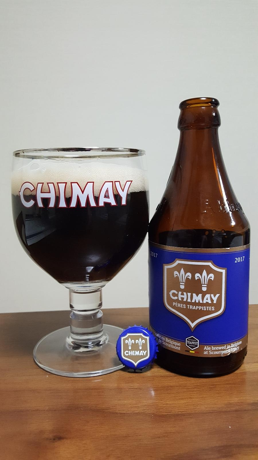 Chimay Pères Trappistes (Blue) 2017