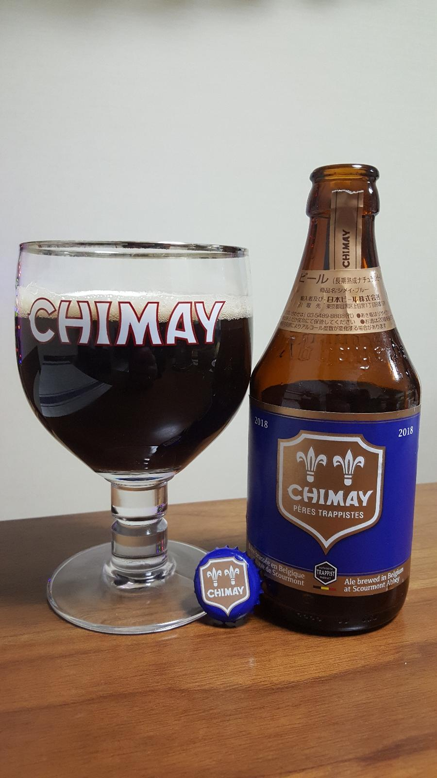 Chimay Pères Trappistes (Blue) 2018