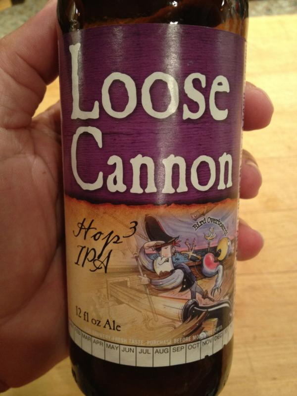 Loose Cannon Hop3 IPA