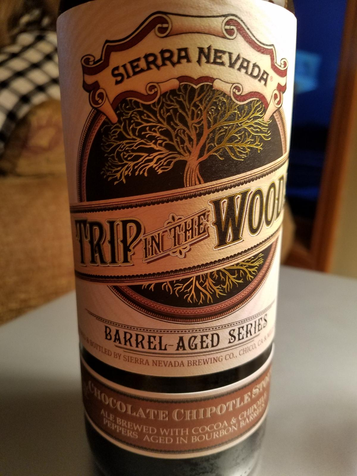 Trip In The Woods Chocolate Chipotle Stout