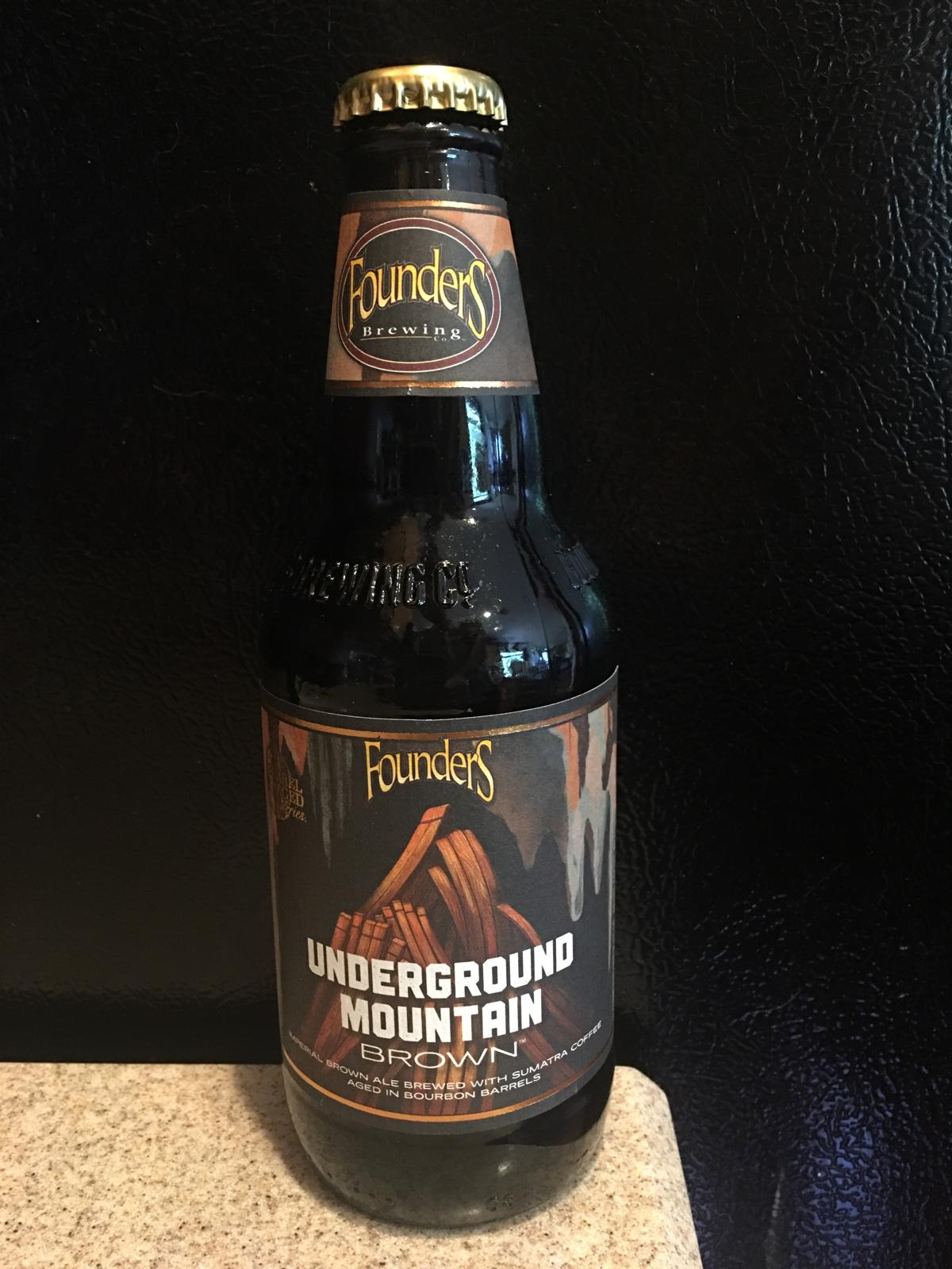 Underground Mountain Brown with Sumatra Coffee (Bourbon Barrel Aged)