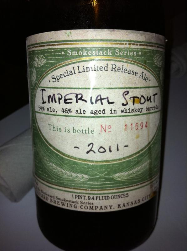 Imperial Stout - Smokestack Series