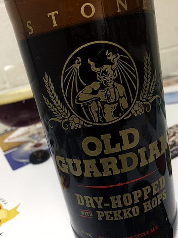 Old Guardian 2016 Dry-Hopped With Pekko Hops