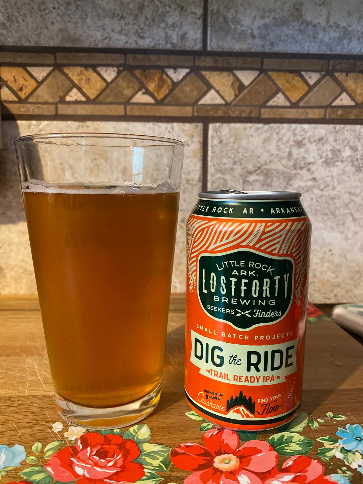 Dig The Ride: Trail Ready IPA
