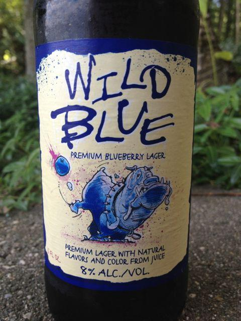 Wild Blue (Blueberry Lager)