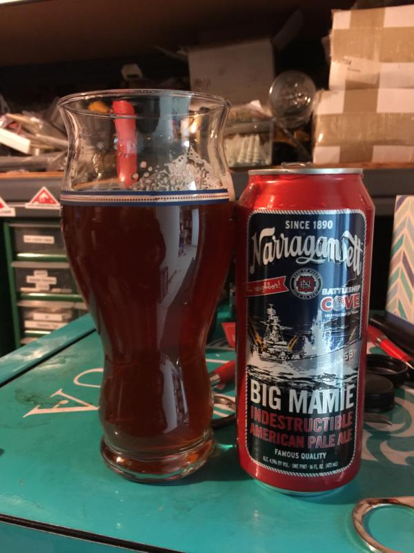 Big Mamie Indestructible Pale Ale